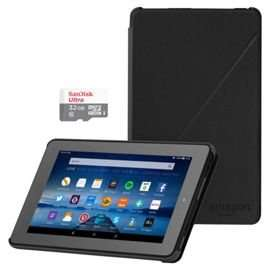 Amazon Fire 16GB 7 inch Tablet + 32GB Memory SD Card + Case £49.99 @ Tesco Direct