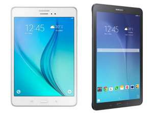"Samsung Galaxy Tab E, 9.6"", Tablet, 8GB Wi-Fi Only - Black or White for £99 at Tesco Direct (Free C+C)"