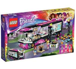LEGO Friends Pop Star Tour Bus £12 @ Tesco direct