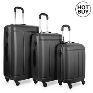 Anter Pluto 3 Piece Hard Suitcase Set - £99.99 delivered at Costco (5% surcharge for non members)