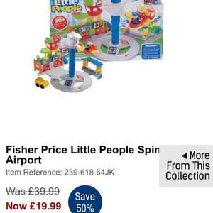 fisher price little people spinning airport at Studio.co.uk for £19.99 plus £4.98 - £24.98