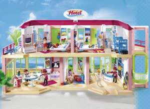 Playmobil Summer Fun Large Furnished Hotel £55 Tesco