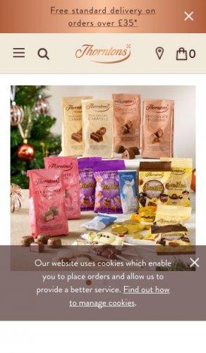 Christmas Stocking Filler Bundle - £15 + £4 P&P (£19) @ Thorntons