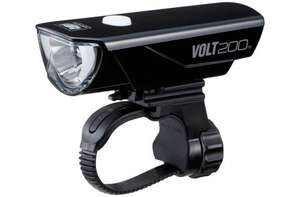 Cateye Volt 200 Rechargeable Front Bike Light - £22.99 - Rutland Cycling