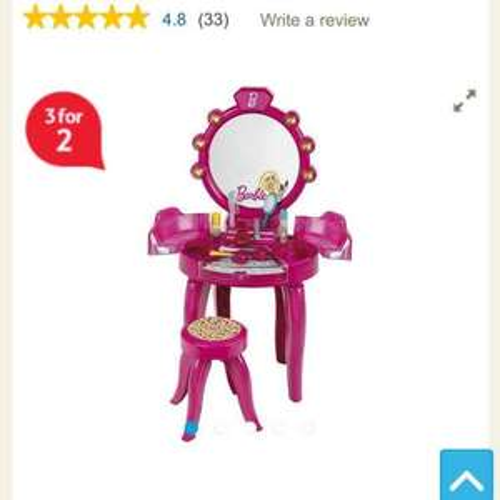 barbie beauty studio £20.05 @ Tesco direct
