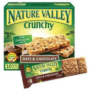 Nature Valley Bars - 10 Bars for £1 at Morrisons