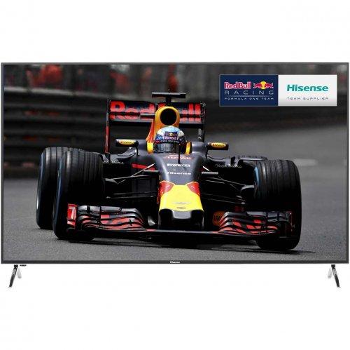 "Hisense HE58KEC730UWTSD 58"" Smart 3D 4K Ultra HD TV - Silver £505 with Code @ AO"