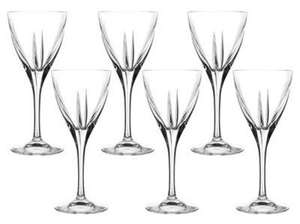 Set fo 6 RCR Fusion Crystal Wine or Champagne Glasses for £10 at Tesco Direct (Free C+C)