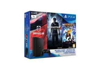 PS4 Slim 1TB Console + Uncharted 4 + Driveclub + Ratchet & Clank £239.99 @ Shopto / eBay