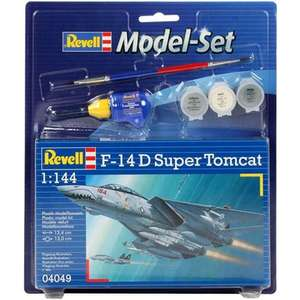 REVELL F-14D Super Tomcat 64049 Model Kit With Paints £3.30 @ Jadlam racing models