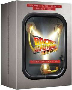 Back to the Future Trilogy Flux Capacitor Blu Ray box set £22.50 @ Zoom