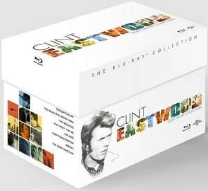 Clint Eastwood: The Collection Blu Ray box set £13.50 @ Zoom
