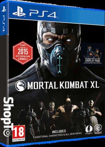 [PS4/Xbox One] Mortal Kombat XL - £12.85 - Shopto (£12.69 - Base.com) | 10% Quidco!