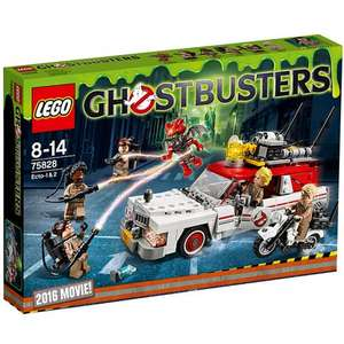 LEGO Ghostbusters 75828 ECTO-1 & ECTO-2 Set £35.97 @ jadlamracingmodels FREE SHIPPING