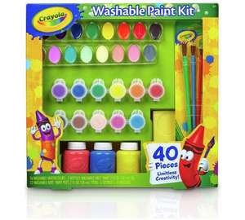 Crayola 40 Piece Washable Paint Kit - £7.99 @ Argos