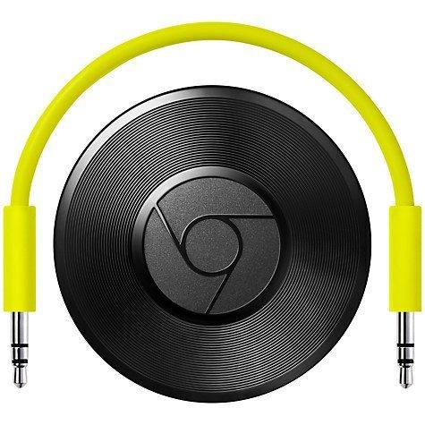 Google Chromecast Audio  (Black) with 2 yrs Guarantee at John Lewis £15 - £2 c&c