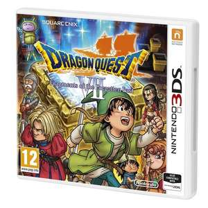 [Nintendo 3DS] Dragon Quest VII: Fragments of the Forgotten - £23.86 - Shopto