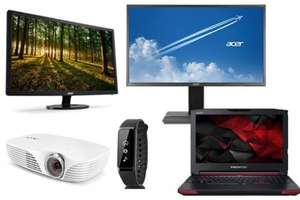 **Now live on site** Acer Black Friday deals - Acer Leap Active Smart Band £34.99 / Acer K138ST 3D Ready £349.99