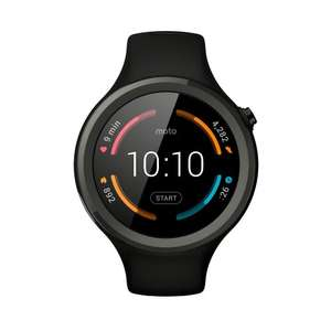 Moto 360 Sport Smartwatch Black £122 delivered @ Amazon France