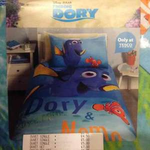 Finding Dory single duvet set £4.50 instore at Tesco