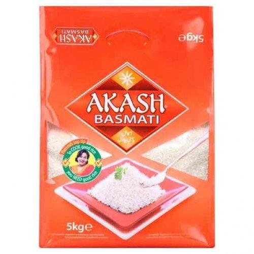 Akash Basmati 5kg for £4 @ Asda
