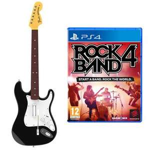 Rock Band 4 Guitar and Software Bundle - PS4 / Xbox One only £19.99 at Argos (Free R+C)