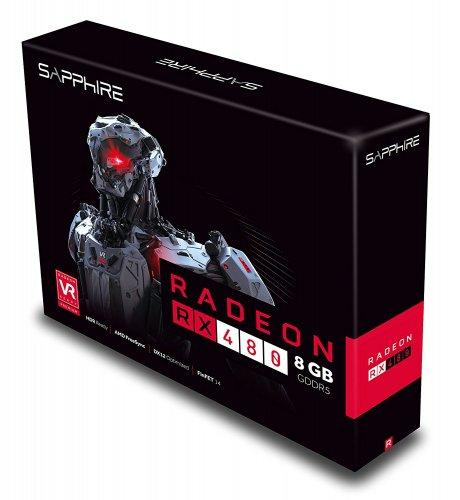 Sapphire AMD Radeon RX 480 8GB £229.99 @ Amazon UK