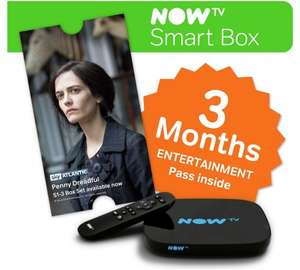 NOW TV 'Smart box' (the one with the Freeview tuner) plus either 3 months entertainment pass or 2 months movies pass for £24.99 @ Argos
