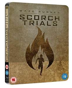 Maze Runner: Chapter II - The Scorch Trials (Blu Ray and HD Digital - HMV Exclusive Steelbook) £4.99 @ HMV