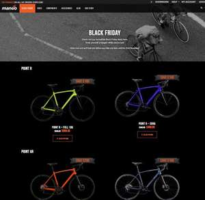 Mango Bikes Black Friday - Save up to £200 on road, gravel and urban/commuter bikes