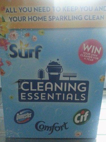 Big box of cleaning stuff & Surf laundry liquid £3.50 @ Wilko instore