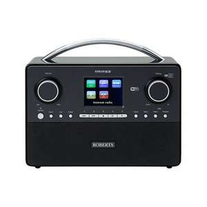 Roberts STREAM93I DAB/DAB+/FM/Internet Radio £125.10 Delivered @ Hughes