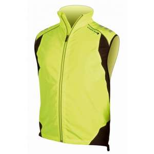 Endura Laser Gilet Hi Viz Yellow at weeks cycles only £14.99