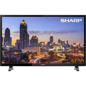 Sharp 32 Inch LC-32CHF4041K HD Ready LED TV with Freeview HD £119 at Tesco