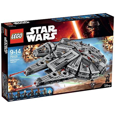 John Lewis LEGO Star Wars 75105 Millennium Falcon £79