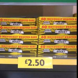 40 Individually Wrapped Caramel Rocky Chocolate Bars In store £2.50 @ Morrisons