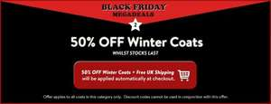 50% OFF Winter Coats + Free Shipping at Tokyo Laundry (Prices From £19.99)
