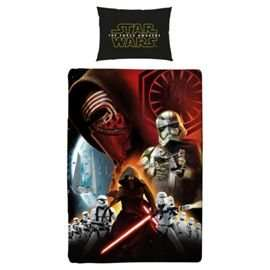 Star Wars Single Duvet & Pillow Case £5 In Store at Tesco