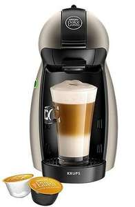 NESCAFE Dolce Gusto Piccolo Manual Coffee Machine - Tesco Black Friday - £39