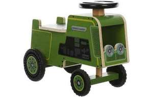 Kiddimoto Wooden Ride On Tractor £25 @ Halfords