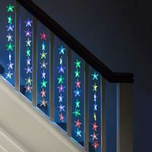 Star fairy lights - today only £10, lightsforfun
