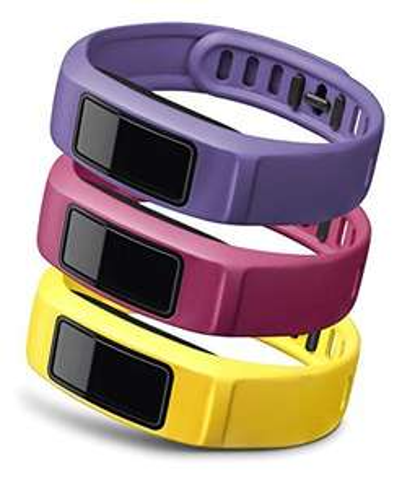 Garmin Small Coloured Wrist Band for Vivofit 2 - Canary/Pink/Violet For £9.99 (£13.98 non-Prime) @ Amazon