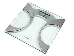 Get in shape for Christmas :) - Salter Ultra Slim Analyser Bathroom Scales for £9.99 (Prime) AMAZON
