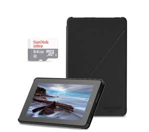 "AMAZON Fire 7"" Tablet Bundle - 16 GB, Black £59.99 @ Currys/PC World"