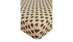 George Home Brushed Cotton Hedgehog Fitted Sheet - £7.60 - George (Asda George)