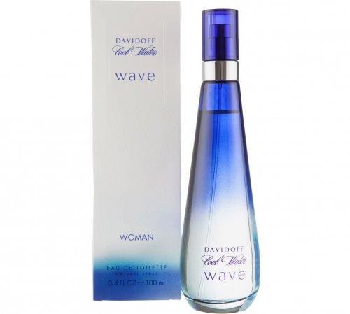 Davidoff Cool Water Wave for Women - 100ml Eau de Toilette for only £12.99 at Argos + free C&C