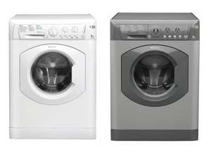 HOTPOINT HE8L493P 8kg A+++ 1400RPM Washing Machine (White or Graphite) only £199 delivered at Currys