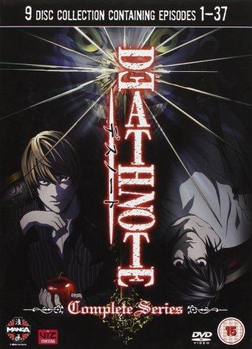 Death Note Complete DVD £13.99 (Prime) / £16.98 (non Prime) @ Amazon