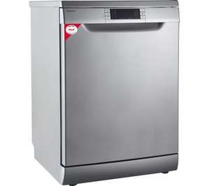 KENWOOD KDW60S16 Full-size Dishwasher - Silver at Currys £199.99 RRP 329.99