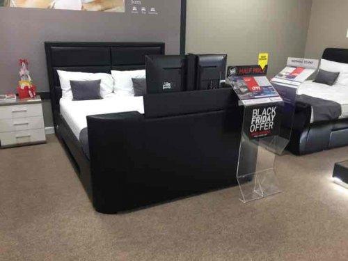 Trafalgar Leather Samsung Smart TV Bed Frame £799 @ Dreams